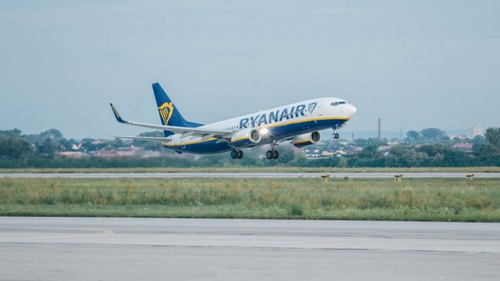 10,9 mln pasażerów latało liniami Ryanair jedynie w marcu