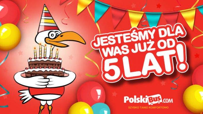 5 urodziny PolskiBus !