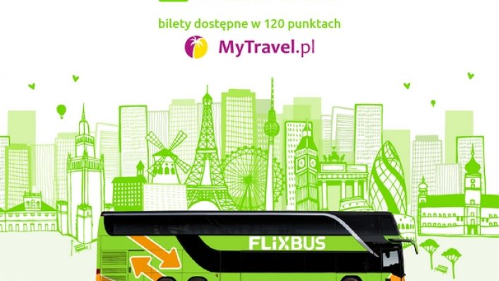 Bilety FlixBus w sieci MyTravel