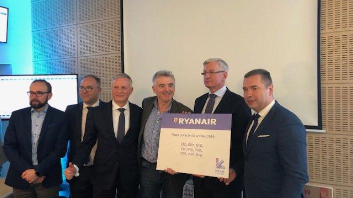 Bilety Ryanair od 39 zł i nowy rozkład lotów!