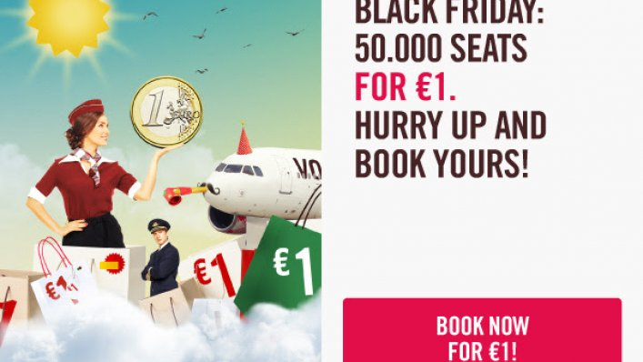Black Friday w Volotea!