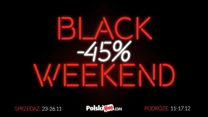 Black Weekend w PolskiBus!