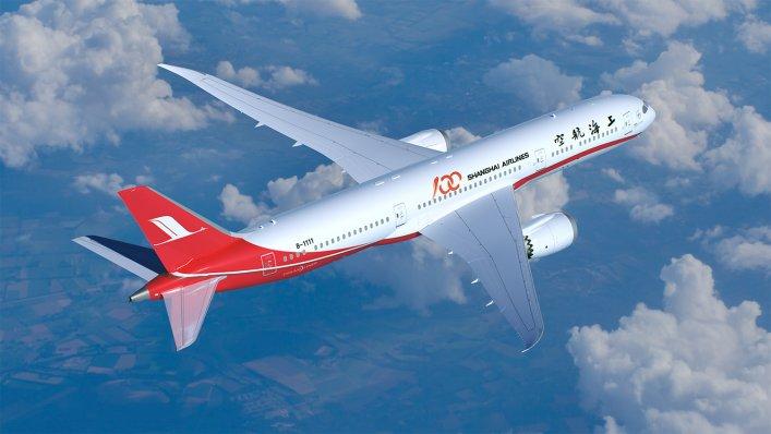 Boeing dostarcza pierwsze Dreamlinery 787-9s dla Shanghai Airlines