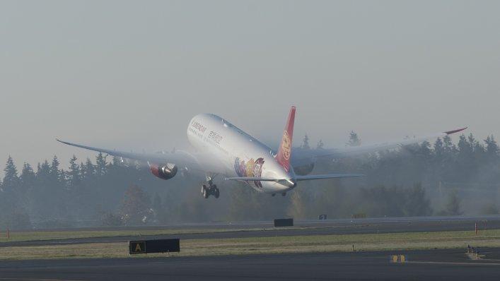 Boeing dostarcza pierwszego Dreamlinera dla Juneyao Airlines