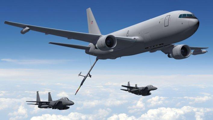 Boeing kończy testy latającego tankowca KC-46 dla amerykańskiej armii
