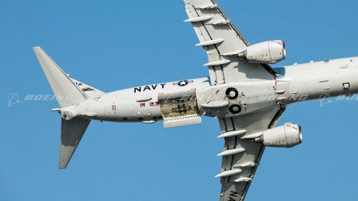 Boeing prezentuje nową wersję systemu P-8A Poseidon