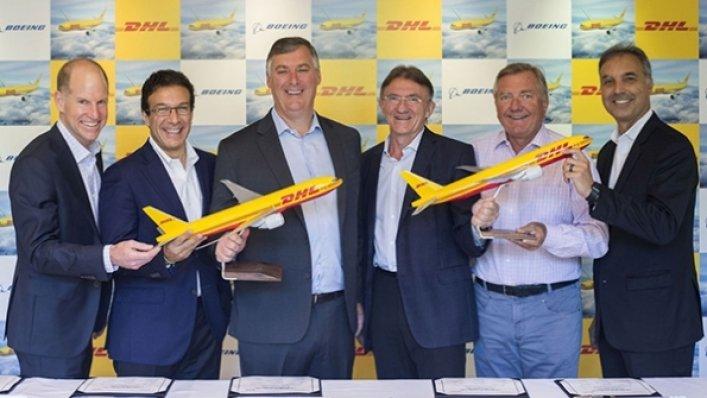 DHL zamawia nowe samoloty Boeinga