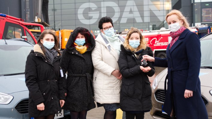 Gdańskie lotnisko wsparło hospicjum dziecięce