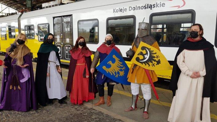 Koleje Dolnośląskie uczciły 780. rocznicę bitwy pod Legnicą