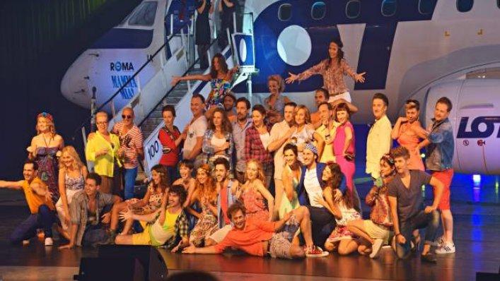 Konferencja LOT i Mamma Mia!