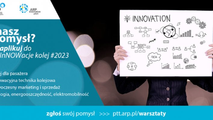 Konkurs InNOWacje - #kolej2023
