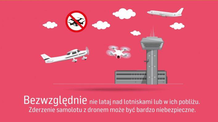 """""""Lataj bezpiecznie"""" - kampania na lotnisku w Modlinie"""