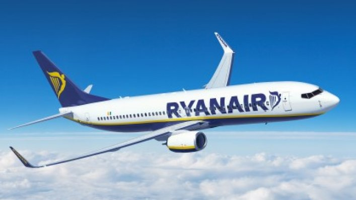 Lipcowe statystki Ryanair – wzrost ruchu o 9%