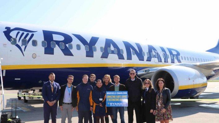 Loty Ryanair przez Brukselę Charleroi – z Warszawy i Krakowa