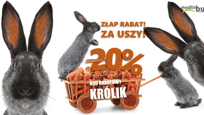 """ModlinBus: rabat 20% w promocji """"ZŁAP RABAT ZA USZY"""" !"""