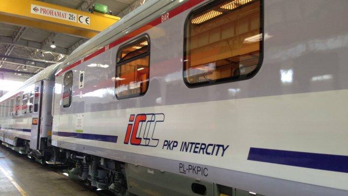 Najlepszy rok w historii inwestycji PKP Intercity