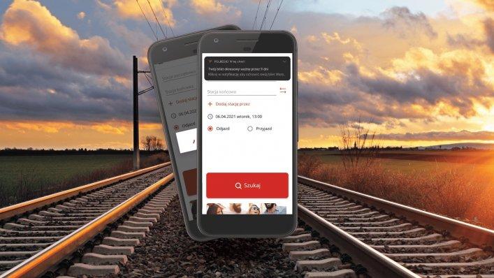 Nowa funkcjonalność w aplikacji mobilnej POLREGIO