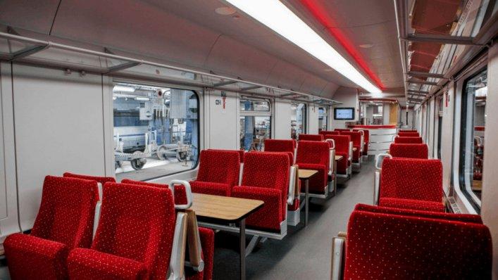Nowe wagony restauracyjne w PKP Intercity