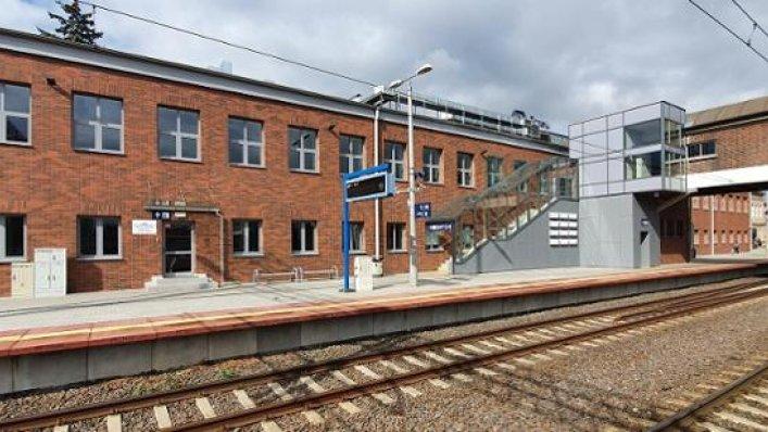 Nowoczesny Dworzec w Tczewie po przebudowie
