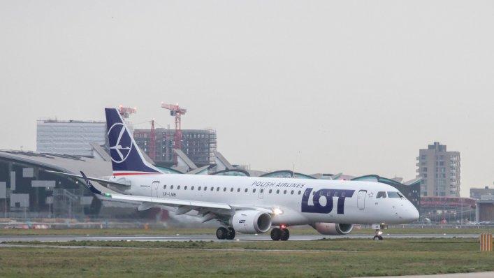 Od 1 maja samoloty LOT-u kursują bezpośrednio z Wilna do London-City