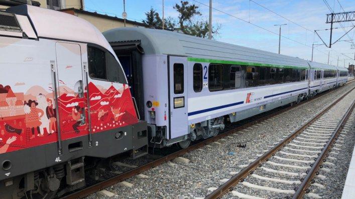 Ostatni z wagonów PKP Intercity po modernizacji