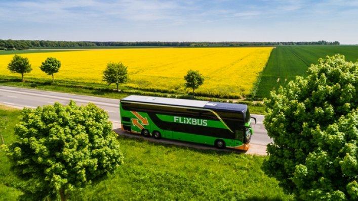 Pasażerowie FlixBusa często korzystają z przesiadek