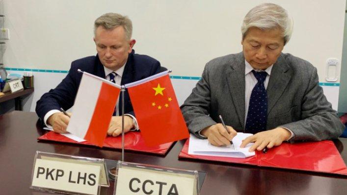 PKP LHS nawiązuje współpracę z partnerami z Chin