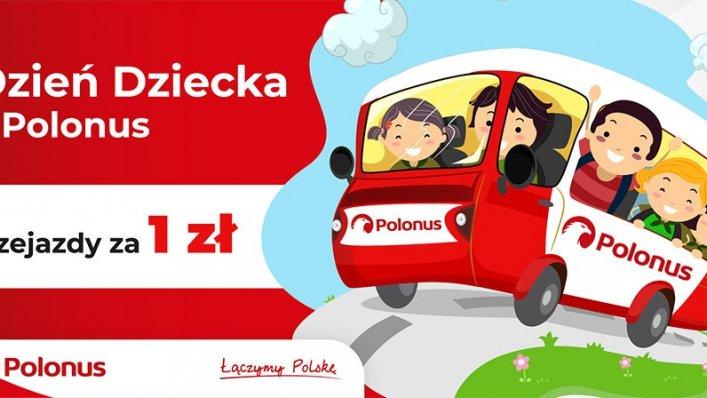 Podróż dla dzieci za 1 zł! Polonus