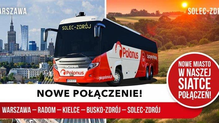 Polonus ponownie poszerza ofertę – kursy do Solec-Zdrój