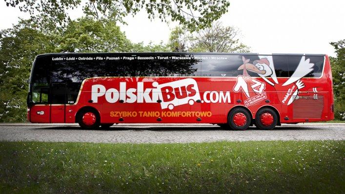 PolskiBus.com: z Warszawy do Kielc i Rzeszowa od 8 PLN