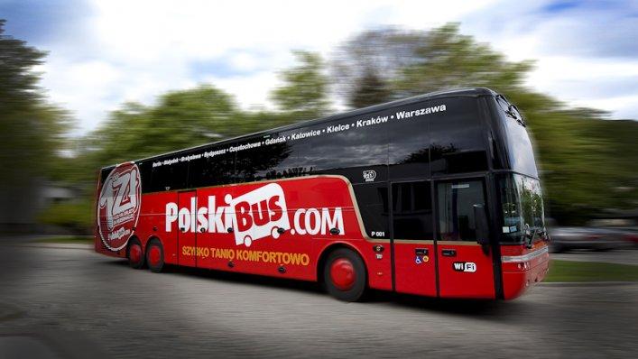 PolskiBus wprowadza nową markę Gold i 8 nowych tras w Polsce