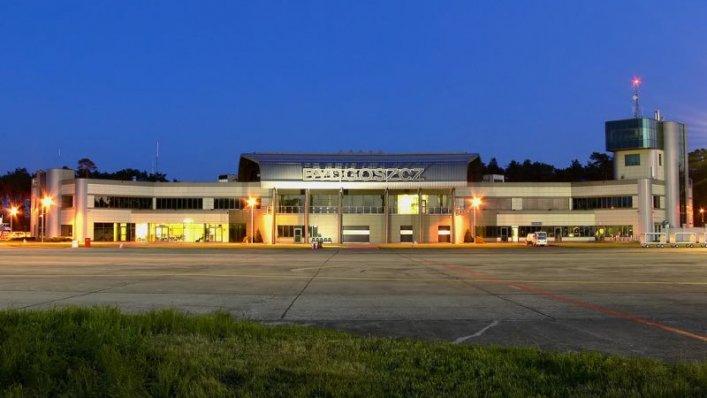 Port Lotniczy Bydgoszcz ze wzrostem