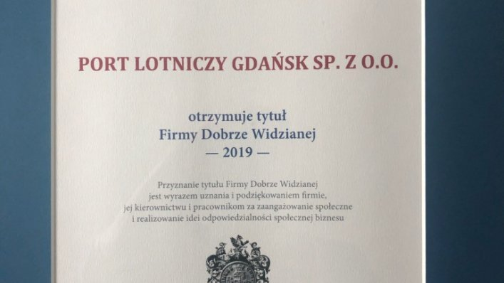 Port Lotniczy Gdańsk to Firma Dobrze Widziana!