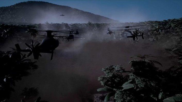 Propozycja samolotów szturmowych dalekiego zasięgu Sikorsky-Boeing