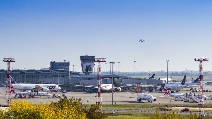 Rekordowy październik na Lotnisku Chopina