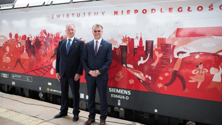 Ruszyły biało-czerwone lokomotywy PKP Intercity