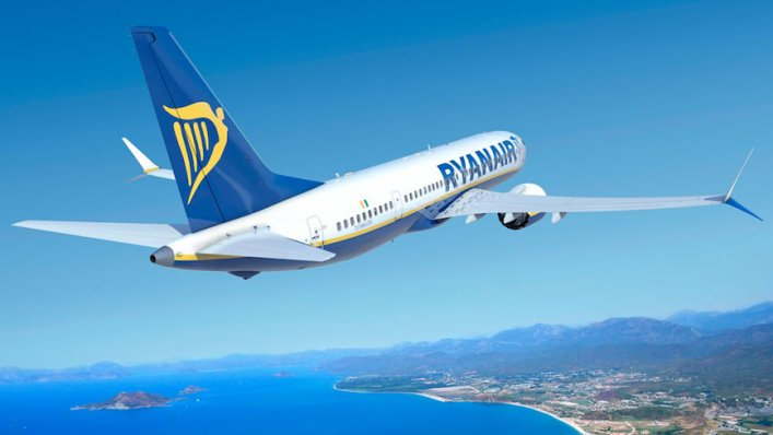 Ryanair nadal notuje wzrost