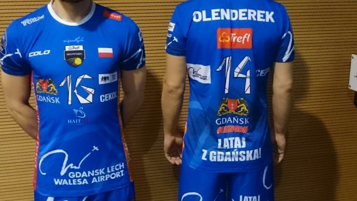 Symbole Lotniska na koszulkach siatkarzy