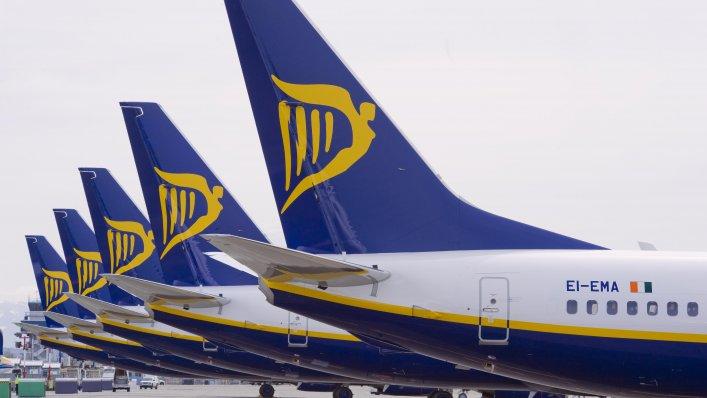 Trzy nowe połączenia Ryanair z Gdańska