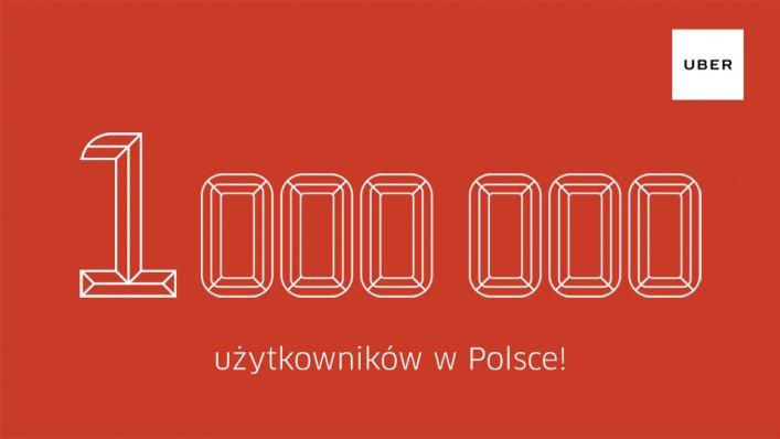 Uber: kod promocyjny na przejazdy 30,00 PLN
