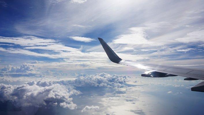 Uszkodzony rządowy samolot