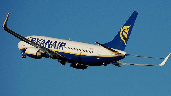 W lutym Ryanair przewiózł 9,6 mln pasażerów