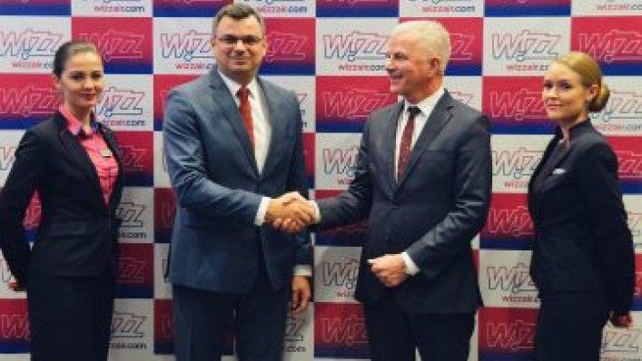 Wizz Air uruchamia 6 nowych połączeń z Krakowa