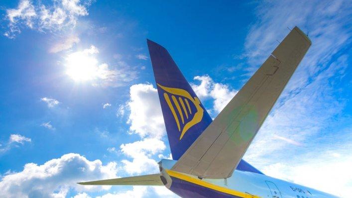 Wrześniowe statystyki ruchu Ryanair
