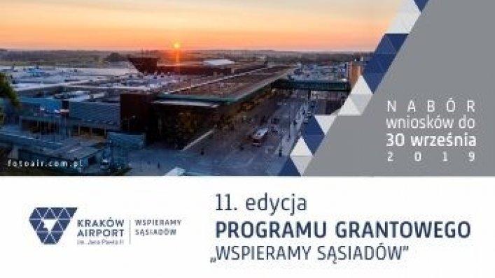 """""""Wspieramy Sąsiadów"""" 2019 – Kraków Airport ogłasza start!"""