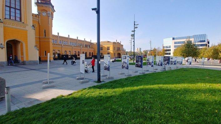 """Wystawa """"Stacja Solidarność"""" we Wrocławiu"""