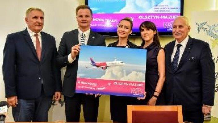 Z Olsztyna do Bremy liniami Wizz Air