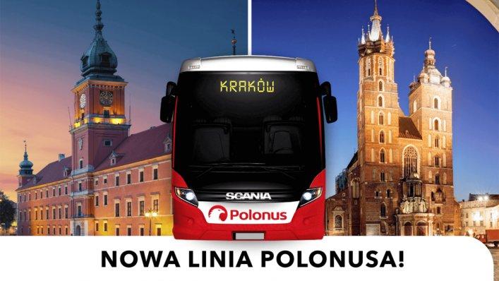 Z Polonusem z Warszawy do Krakowa