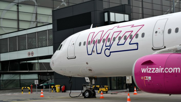 Z Wizz Air do Charkowa
