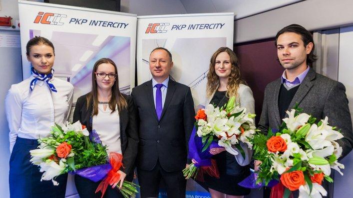 """Zakończenie konkursu PKP Intercity """"Pociąg do nagród""""!"""